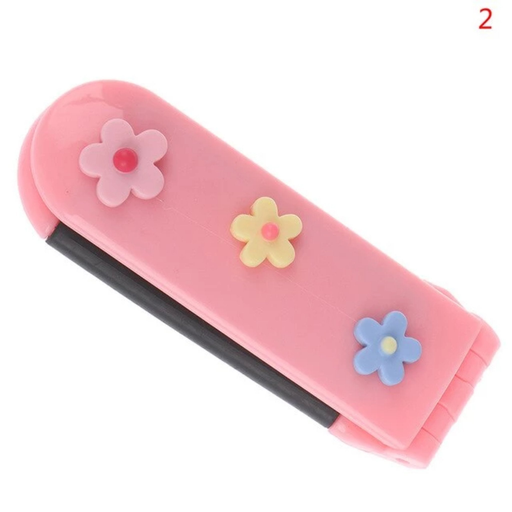 Fashion Travel Brush/Comb Folding Mirror - Fresh Hair Extensions and Accessories