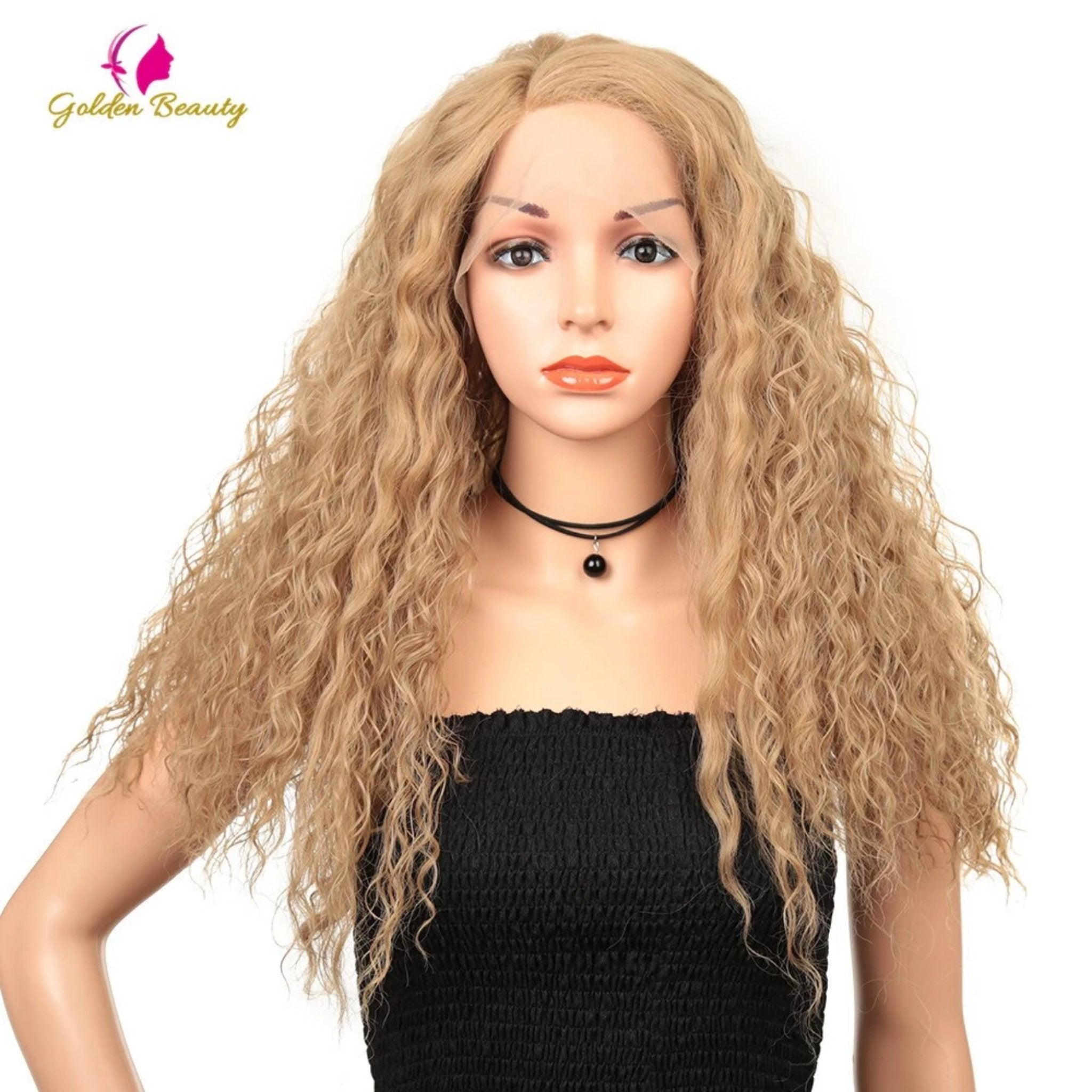 Long Curly Lace Front Wig - Fresh Hair Extensions and Accessories