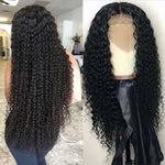 Malaysian Curly Lace Front Human Hair Wigs - Fresh Hair Extensions and Accessories