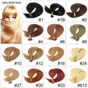 Straight I-Tip/Keratin Hair Extensions - Fresh Hair Extensions and Accessories