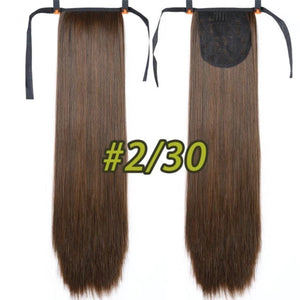 Super Long Straight Ponytail Clip In Hair Extensions - Fresh Hair Extensions and Accessories