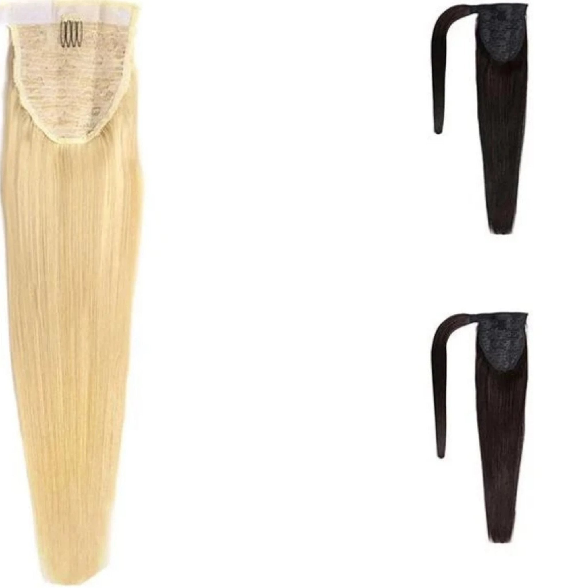 Brazilian Ponytail Clip In Hair Extensions - Fresh Hair Extensions and Accessories