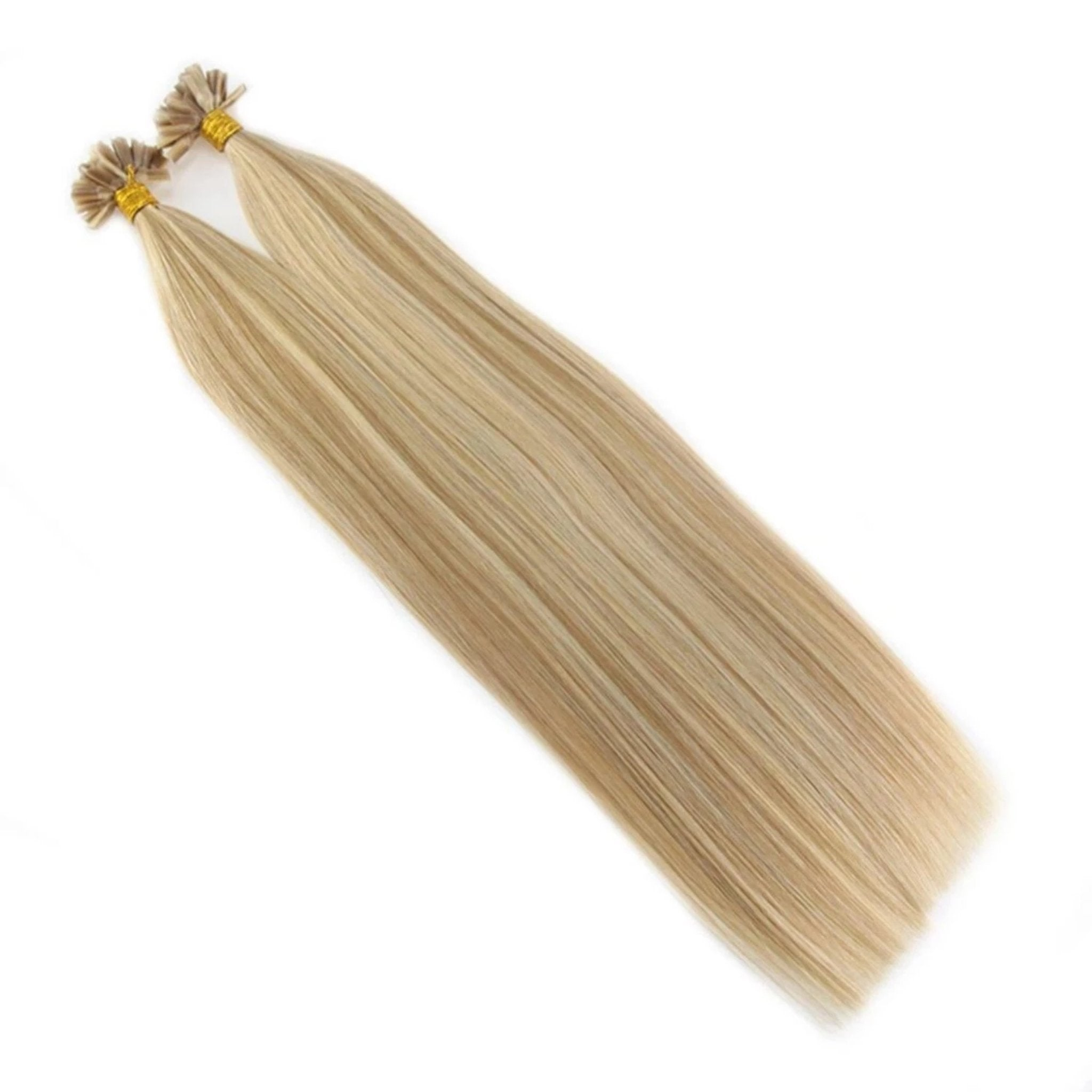 Remy Keratin Nail U Tip Hair Extensions - Fresh Hair Extensions and Accessories
