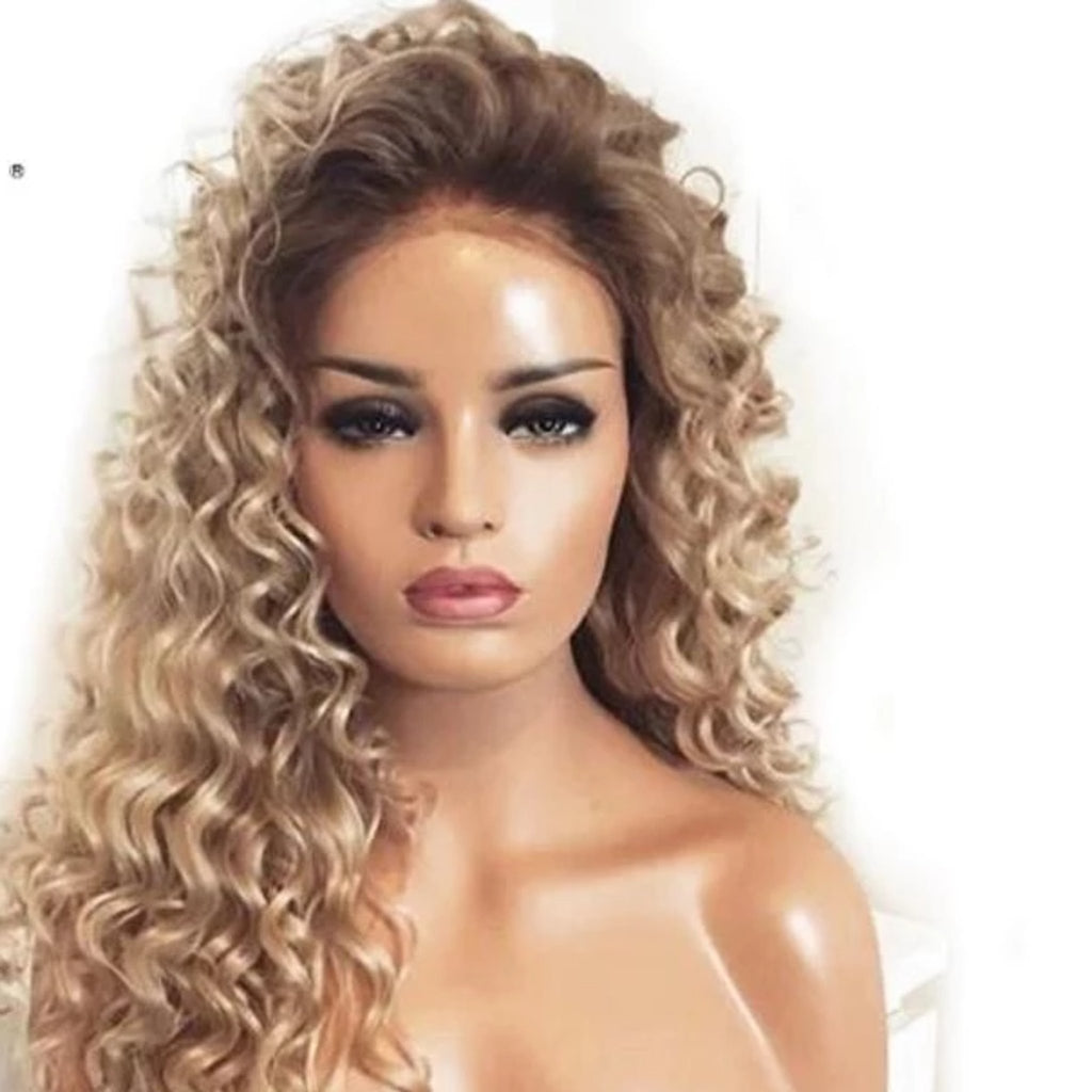 Curly Lace Front Wig - Fresh Hair Extensions and Accessories