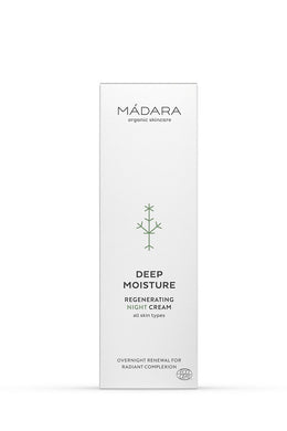 Mádara Deep Moisture Regenerating Naturkosmetik Night Cream 50ml