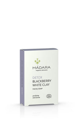 Mádara Detox Blackberry and White Clay Gesichtsseife