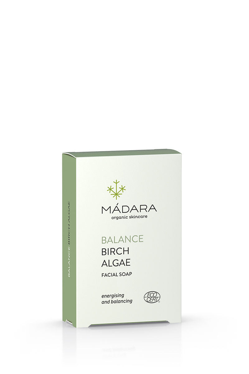 Mádara Balance Birch and Algae Facial Soap bei beautynauten.com