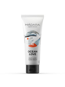 Mádara Ocean Love Naturkosmetik Multi-Layer Hand Cream