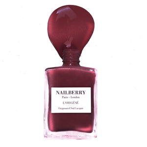 Nailberry L'Oxygéné Mystique Red Nagellack