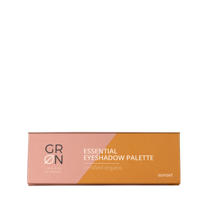 GRN Kosmetik Essential Eyeshadow Palette sunset auf beautynauten.com