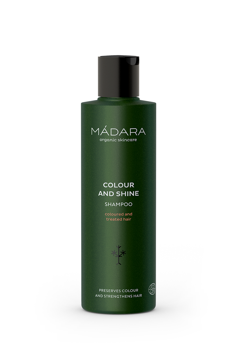 Mádara Naturkosmetik Shampoo Colour and Shine