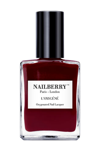 Nailberry 12-free Nagellack in deep mulberry