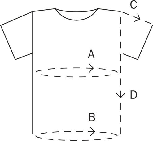T-shirt Size Guide CDLP