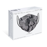 KN95 Protective Mask - Camo Series - Grey (Pack of 5)