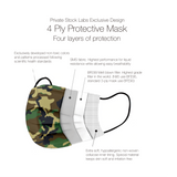 4-Ply Protective Mask - Camo Series - Jungle (Pack of 10)