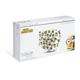 Petite 4-Ply Protective Mask - Minions Series - White (Pack of 10)