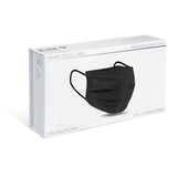 4-Ply Protective Mask - Monochrome Series - Black (Pack of 10)