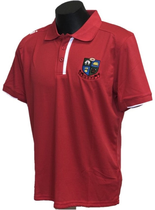 Poverty Bay Polo Shirt - Red