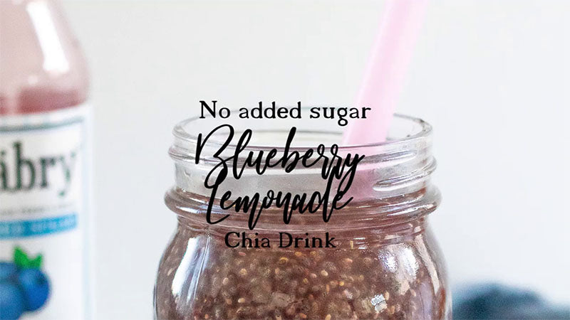 Blueberry Chia Lemonade