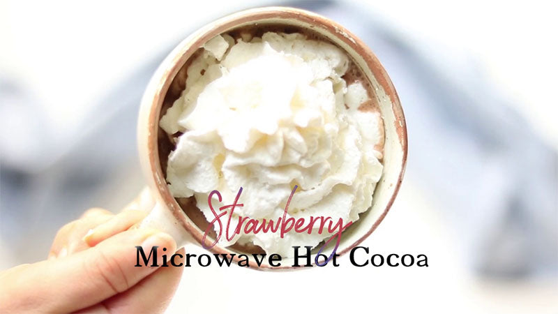 Strawberry Hot Cocoa