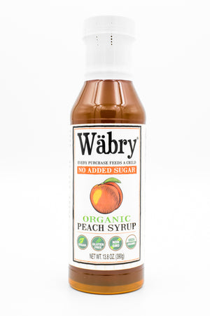 Peach Syrup (No Sugar Added )