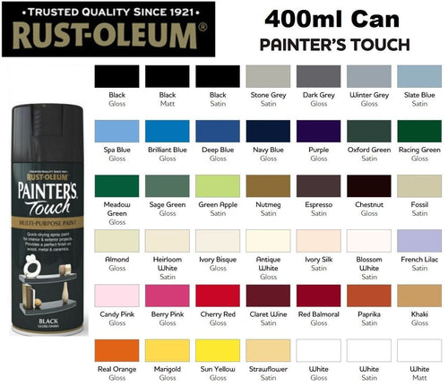 Rust-Oleum Painters Touch Multi-Purpose Spray Paint - 400ml