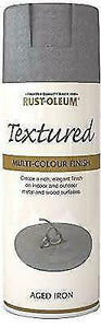 Rust-Oleum Stone Textured Spray Paint in Granite Stone Pebble Bleached Forest ..