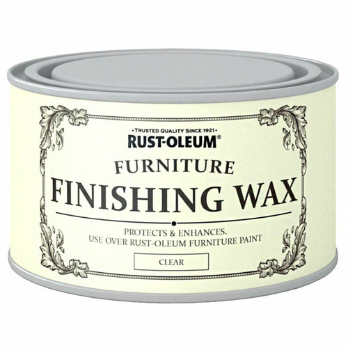 400ml Rust-Oleum Furniture Finishing Clear Wax / colourless wax Protect Wood