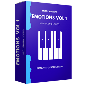 Emotions Vol 1 - Midi Piano Loops