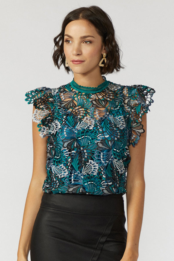 Emerald Perfect Occasion Top