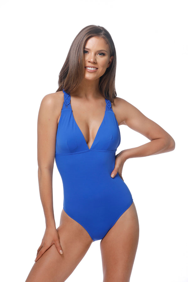Royal Blue Swimsuit