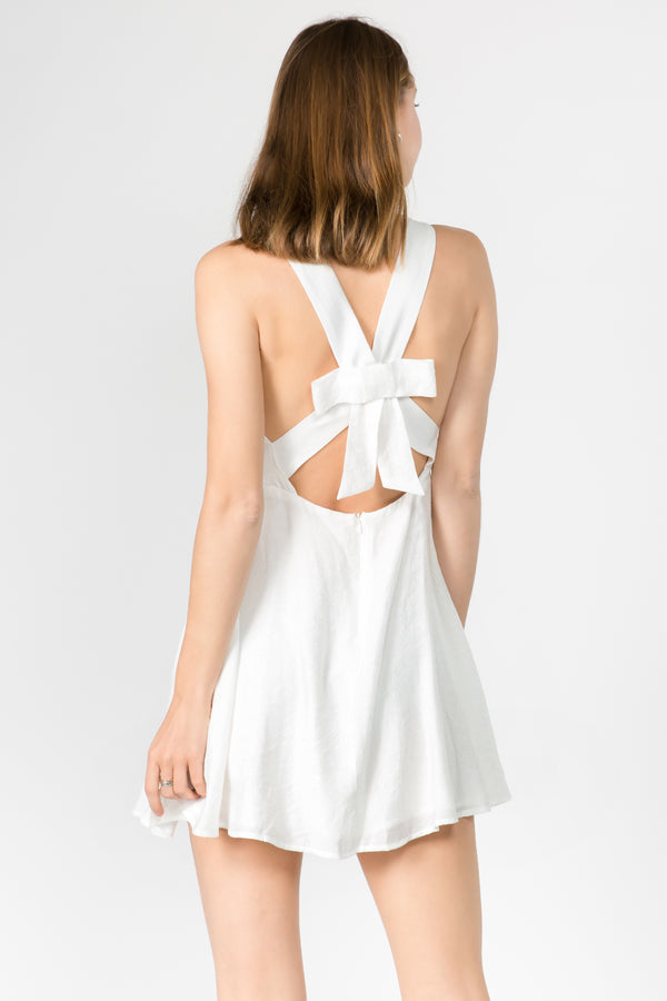 Back Bow Summer Dress