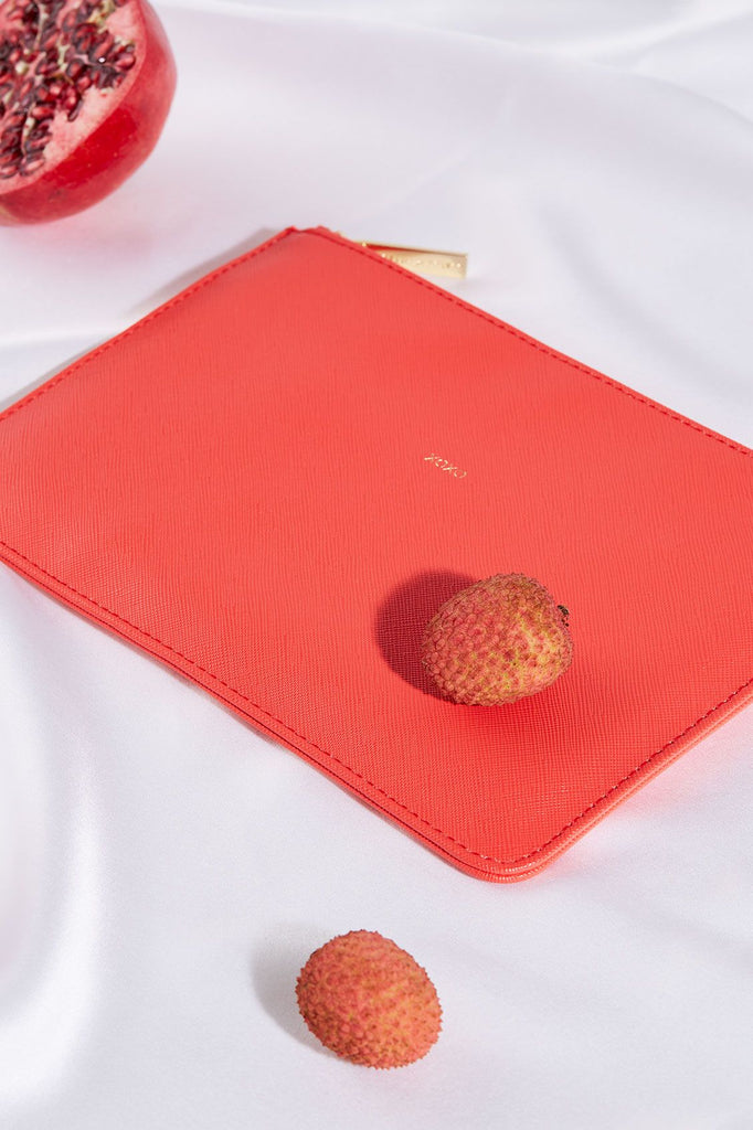 The XOXO Pouch (Red)