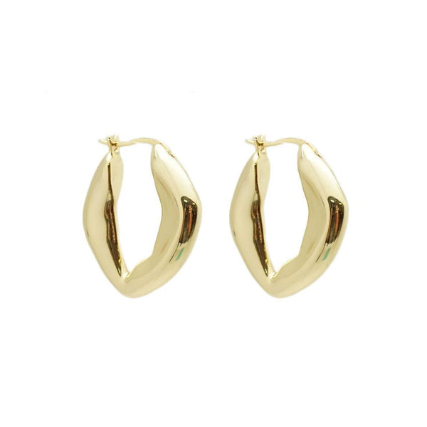 Abstract Oval Hoops