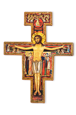 San Damiano Cross 10""