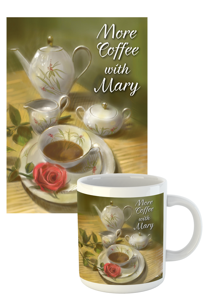 "PRE-Order: Box Set Of <br>""More Coffee With Mary Volume 2"" <br>Booklet and Mug"