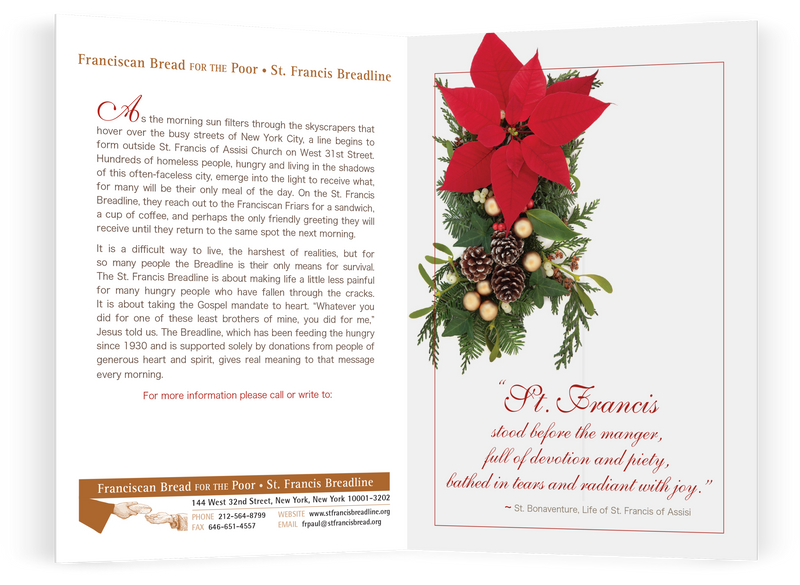St. Francis Breadline: <br> Christmas Card