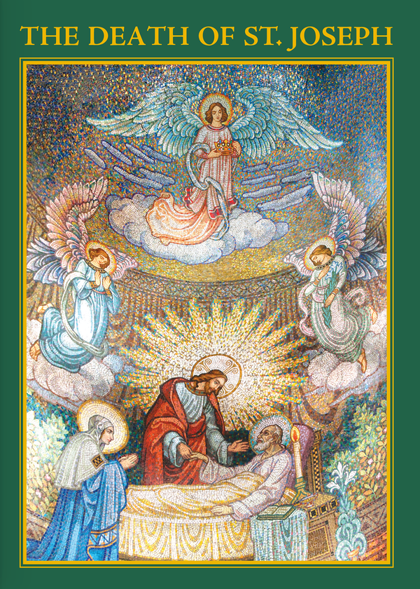 The Death of St. Joseph Memorial Card