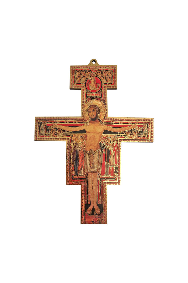 San Damiano Cross 7""