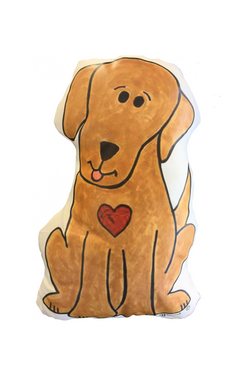 Dog Pet Prayer Pillow <br> Friar Pets With A Franciscan Heart