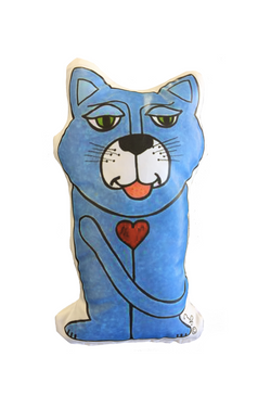 Cat Pet Prayer Pillow <br> Friar Pets With A Franciscan Heart