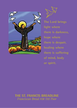 St. Francis Breadline: <br> Healing Card
