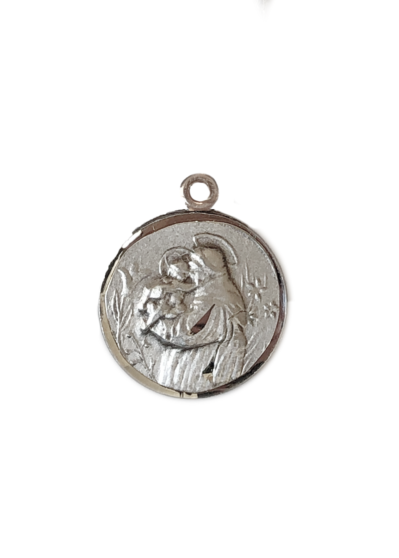 St. Anthony Medal Sterling Silver