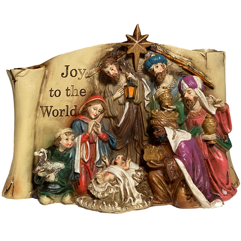 """Joy To The World"" Stable Scene"