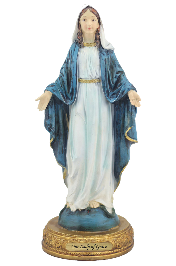 "8"" Our Lady of Grace Statue"