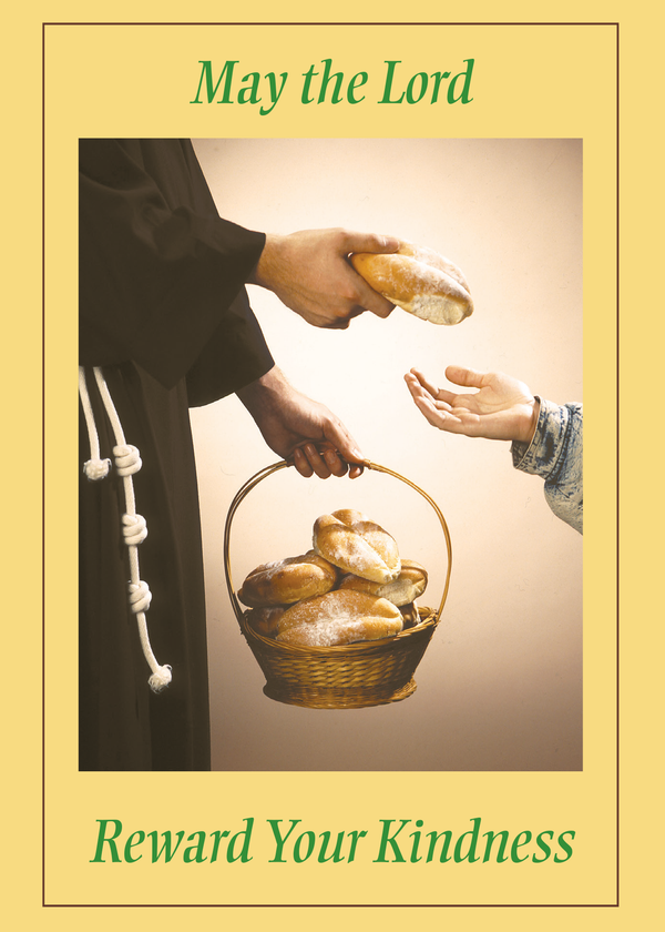 St. Francis Breadline: <br> Thank You Card