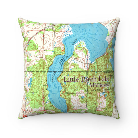 MN Lake Pillow - Little Birch Lake
