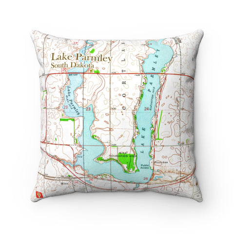 SD Lake Pillow - Lake Parmley