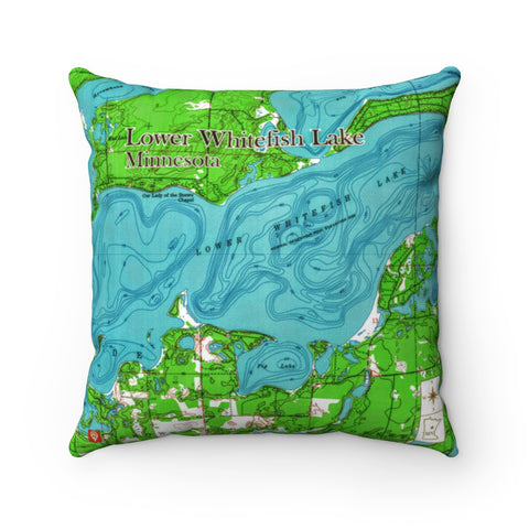 MN Lake Pillow - Lower Whitefish Lake