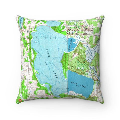 MN Lake Pillow - Rock Lake (Detroit Lakes Area)